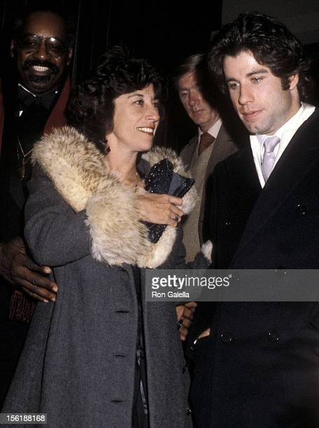 Actor John Travolta and sister actress Ellen Travolta attend 'Grease' 2000th Broadway Performance and After Party on December 8 1979 at the Royale...