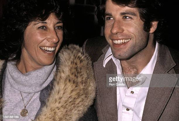 Actor John Travolta and sister actress Ellen Travolta on December 9 1979 dine at the Tavern on the Green in New York City