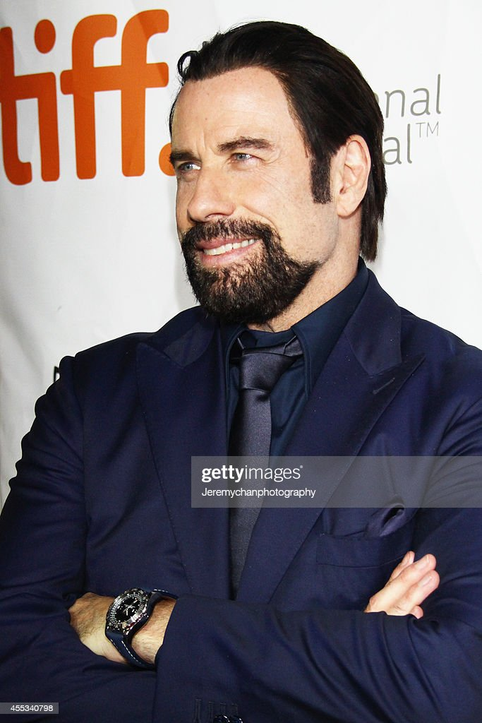 Actor John Travolta arrives at 'The Forger' Premiere during the 2014 Toronto International Film Festival held at Roy Thomson Hall on September 12, 2014 in Toronto, Canada.