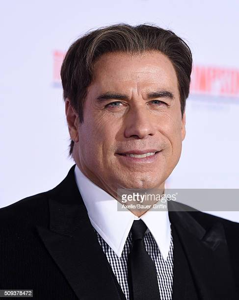 Actor John Travolta arrives at the premiere of 'FX's 'American Crime Story The People V OJ Simpson' at Westwood Village Theatre on January 27 2016 in...