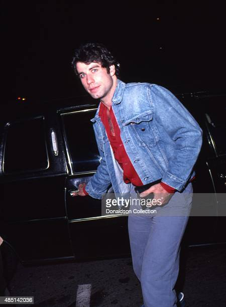 Actor John Travolta attends an event in November 1979 in Los Angeles California