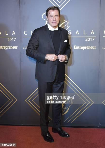 Actor John Travolta attends City Gala 2017 at Walt Disney Concert Hall on February 12 2017 in Los Angeles California