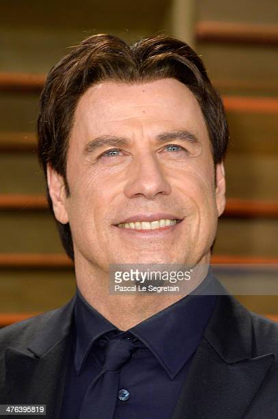 Actor John Travolta attends the 2014 Vanity Fair Oscar Party hosted by Graydon Carter on March 2 2014 in West Hollywood California