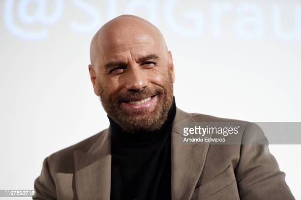 Actor John Travolta attends the American Cinematheque Presents a John Travolta Double Feature of Pulp Fiction and The Fanatic event at the Aero...