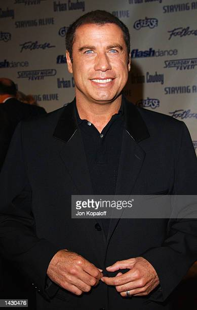 Actor John Travolta attends the Celebration of Paramount Studio's 90th Anniversary with the release of six alltime musical favorites Grease Saturday...
