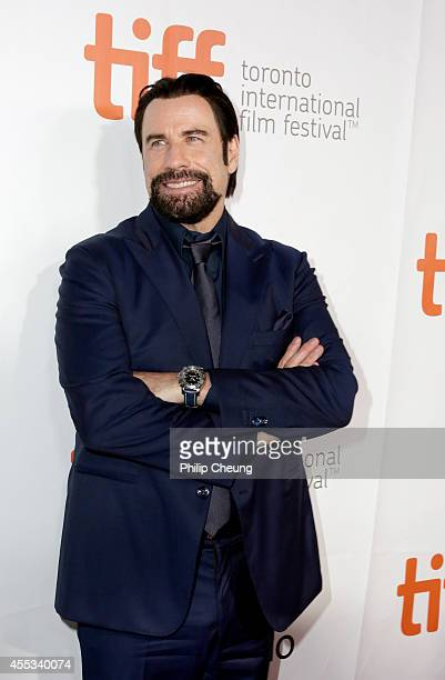 Actor John Travolta attends The Forger premiere during the 2014 Toronto International Film Festival at Roy Thomson Hall on September 12 2014 in...