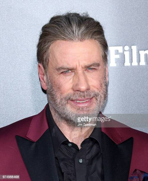 Actor John Travolta attends the Gotti New York premiere at SVA Theater on June 14 2018 in New York City