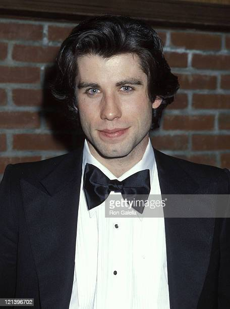 Actor John Travolta attends the Saturday Night Fever Premiere Party on December 12 1977 at Tavern on the Green in New York City