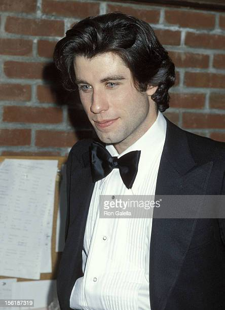 Actor John Travolta attends the 'Saturday Night Fever' Premiere Party on December 12 1977 at Tavern on the Green in New York City