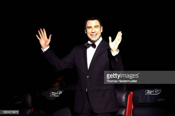 Actor John Travolta attends the 'Savages' movie presentation and the opening of the Zurich Film Festival 2012 on September 20 2012 in Zurich...