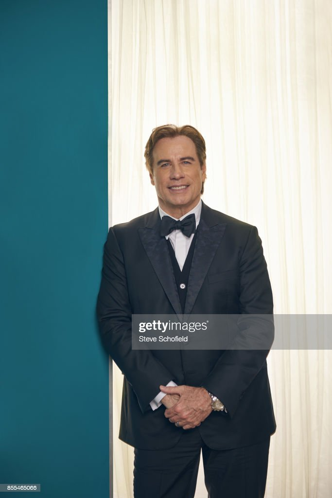Actor John Travolta is photographed for Emmy magazine on September 18, 2016 in Los Angeles, California.