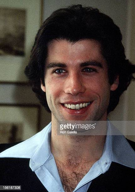 Actor John Travolta on December 13 1977 is in town to promote his new film 'Saturday Night Fever' and is staying at The Plaza Hotel in New York City