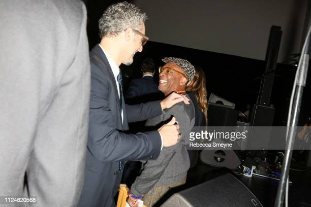 Actor John Turturro and director Spike Lee attend the Museum of Modern Art Film Benefit Presented by Chanel A Tribute to Martin Scorsese at the...