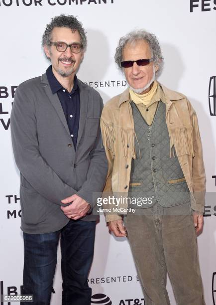 Actor John Turturro and Frank Serpico attend the 'Frank Serpico' Premiere during the 2017 Tribeca Film Festival at Cinepolis Chelsea on April 23 2017...