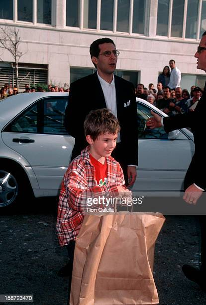 Actor John Turturro and son Amedeo Turturro attending 13th Annual IFPWest Independent Spirit Awards on March 21 1998 at the Santa Monica Beach in...