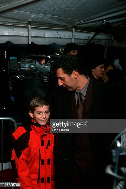 Actor John Turturro and son Amedeo Turturro attending the premiere of O Brother Where Art Thou on December 19 2000 at the Ziegfeld Theater in New...