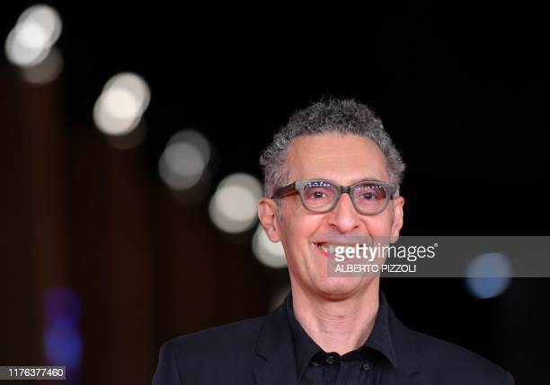 US actor John Turturro arrives for the screening of US crime drama Motherless Brooklyn during the 14th Rome Film Festival on October 17 2019 at the...