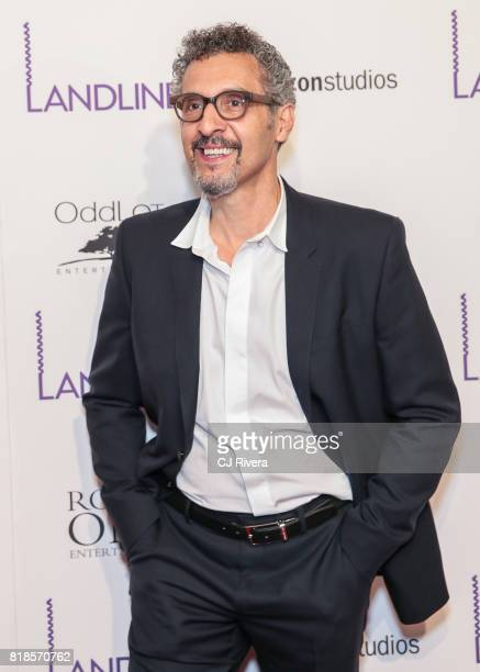 Actor John Turturro attends the New York premiere of 'Landline' at The Metrograph on July 18 2017 in New York City