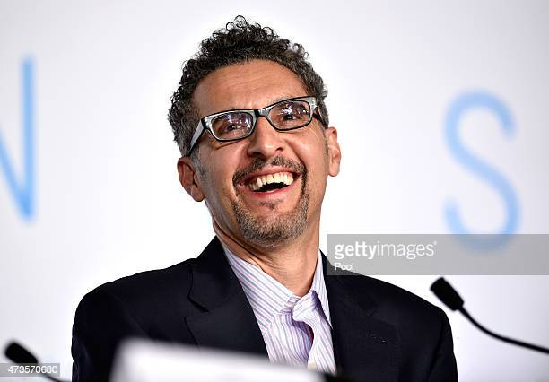 Actor John Turturro attends the press conference for 'Mia Madre' during the 68th annual Cannes Film Festival on May 16 2015 in Cannes France