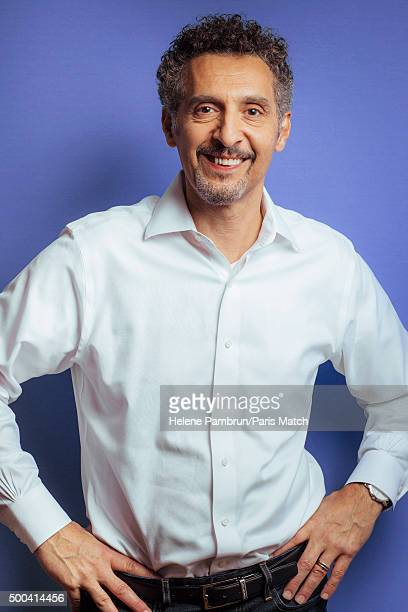Actor John Turturro is photographed for Paris Match on November 5 2015 in Paris France