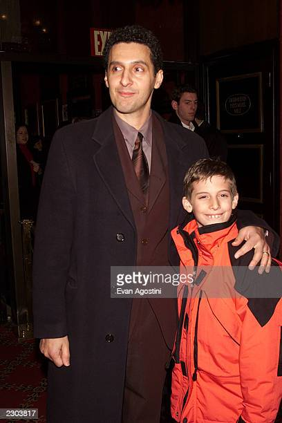 Actor John Turturro with his son Amedeo attends the 'O Brother Where Art Thou' film premiere at the Ziegfeld Theatre in New York City Photo Evan...