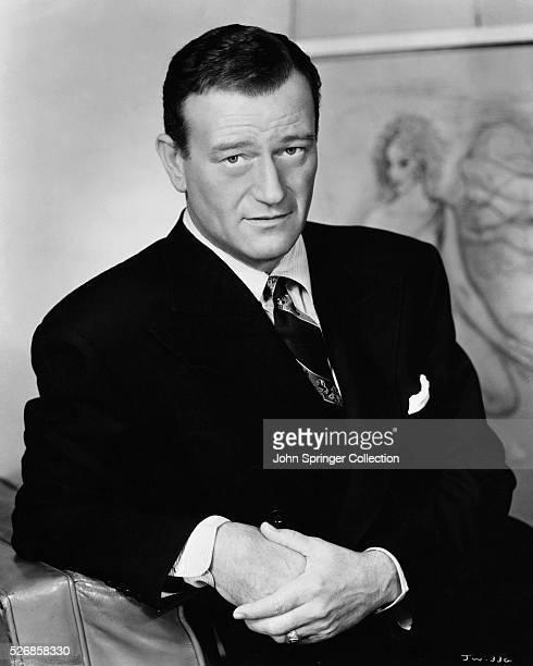 Actor John Wayne