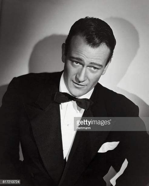 Actor John Wayne portrays attorney Lynn Hollister in the 1941 motion picture A Man Betrayed