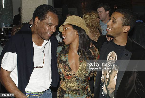 """Actor John Witherspoon, actress Regina King and Creator/Executive Producer Aaron McGruder attend the Los Angeles Launch Party For The TV Series """"The..."""