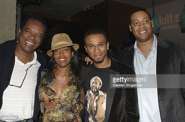 Actor John Witherspoon, actress Regina King, Creator/Executive Producer Aaron McGruder and actor Cedric Yarbrough attend the Los Angeles Launch Party...