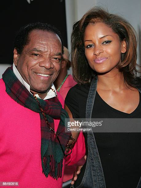 Actor John Witherspoon and TV personality Claudia Jordan attend the 31st annual Playboy Jazz Festival at the Hollywood Bowl on June 14, 2009 in...