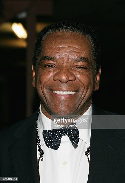 Actor John Witherspoon arrives at the first anniversary celebration of the Artpeace Gallery on January 20 2007 in Burbank California
