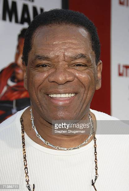 Actor John Witherspoon attends Sony Pictures premiere of Little Man at the Mann National Theater on July 6 2006 in Westwood California