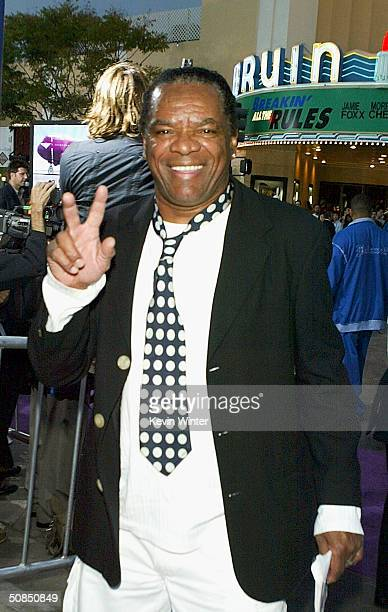 Actor John Witherspoon attends the world premiere of the MGM Pictures' film Soul Plane on May 17 2004 at the Mann Village Theatre in Westwood...