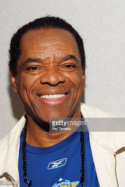 """Actor John Witherspoon visits WWPR's """"Egypt And Ashy Morning Show"""" at Clear Channel Studios October 02, 2006 in New York City."""