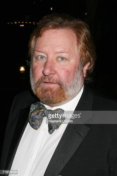Actor John Wood attends Channel Seven's TV Turns 50 The Event That Stopped a Nation at Star City on September 17 2006 in Sydney Australia