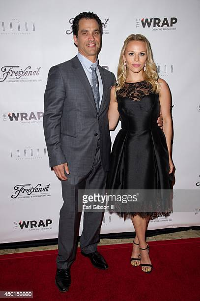 Actor Johnathon Schaech and Julie Solomon attend TheWrap's First Annual Emmy Party at The London West Hollywood on June 5, 2014 in West Hollywood,...