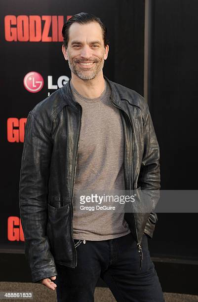 Actor Johnathon Schaech arrives at the Los Angeles premiere of 'Godzilla' at Dolby Theatre on May 8 2014 in Hollywood California