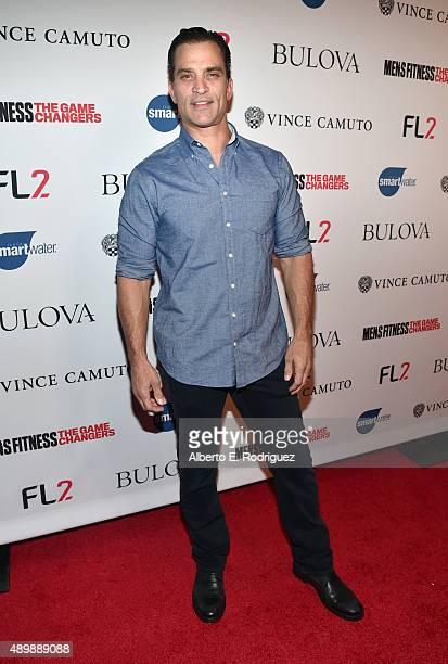 Actor Johnathon Schaech attends MEN'S FITNESS Celebration of The 2015 Game Changers on September 24 2015 in West Hollywood California