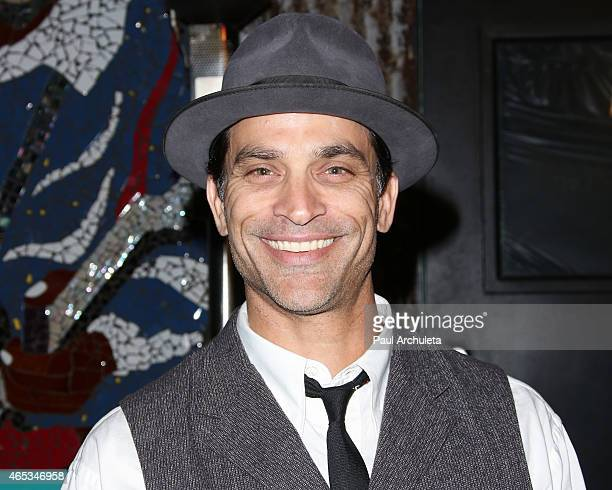 Actor Johnathon Schaech attends the 2nd annual Hollywood Heals spotlight on Tourette Syndrome at House of Blues Sunset Strip on March 5 2015 in West...