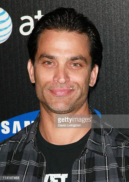 Actor Johnathon Schaech attends the Samsung Infuse 4G launch event featuring Nicki Minaj at Milk Studios on May 12 2011 in Los Angeles California