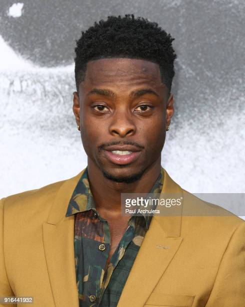 Actor Johnell Young attends the premiere of Lionsgate's 'All Eyez On Me' on June 14 2017 in Los Angeles California