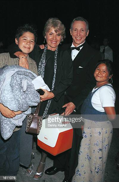 Actor Johnny Crawford and family attend Television Night At The Bowl A Celebration of Television Music August 26 2001 at the Hollywood Bowl in Los...