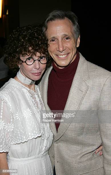 Actor Johnny Crawford and Kim Darby attend the Golden Boot Awards held at the Beverly Hilton Hotel on August 13 2005 in Beverly Hills California