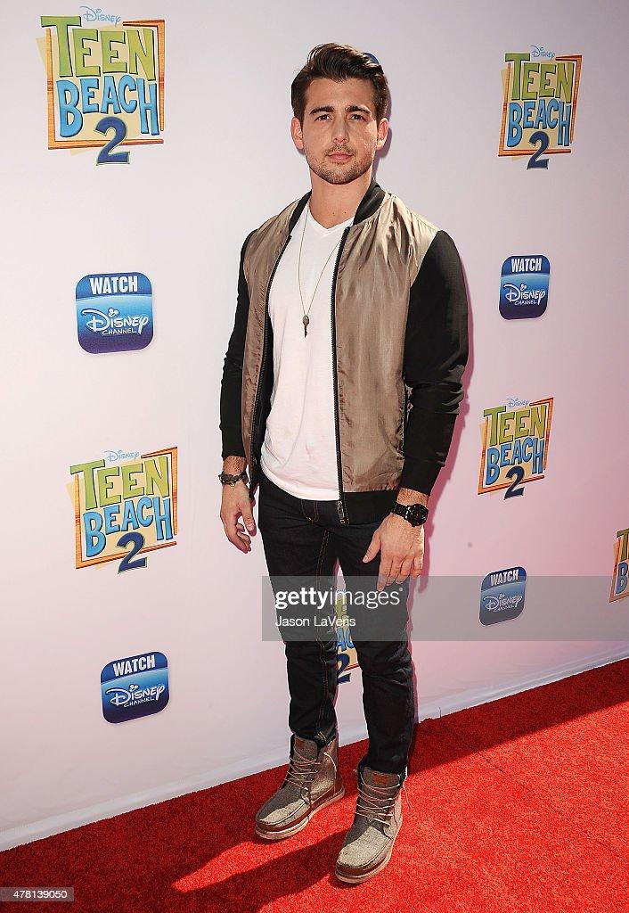 Actor Johnny DeLuca attends the premiere of 'Teen Beach 2' at Walt Disney Studios on June 22, 2015 in Burbank, California.