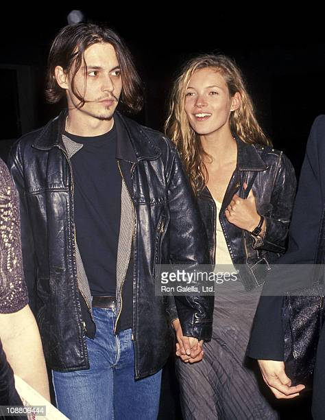 Actor Johnny Depp and model Kate Moss attend the Richard Tyler's New Fashion Collection and Screening of Johnny Depp's Directorial Debut of Short...