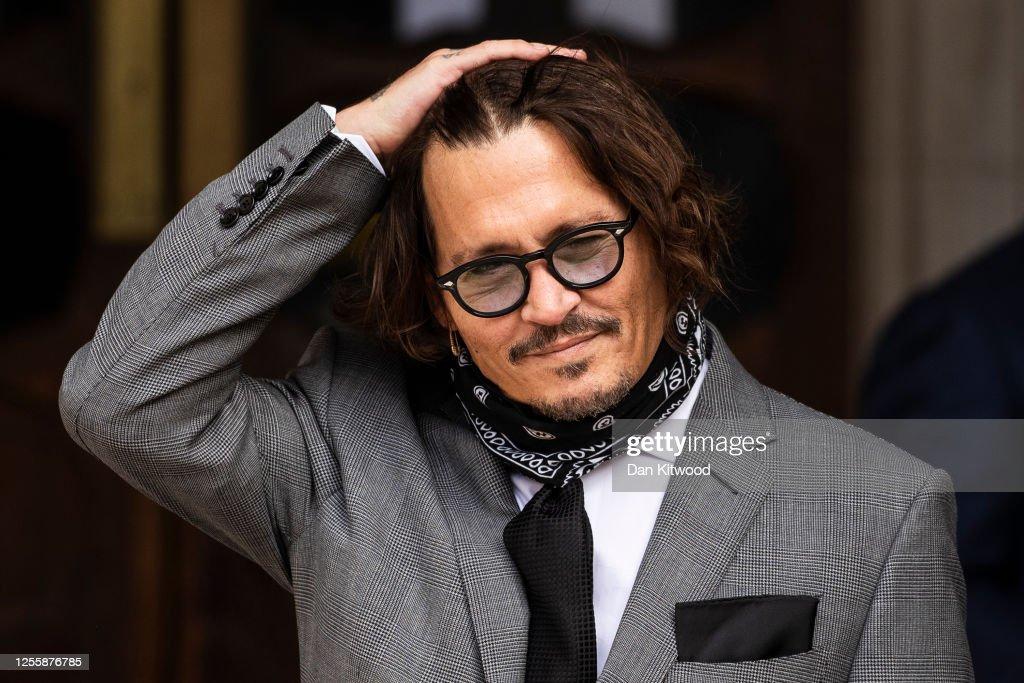 Depp Libel Trial Resumes In London : News Photo
