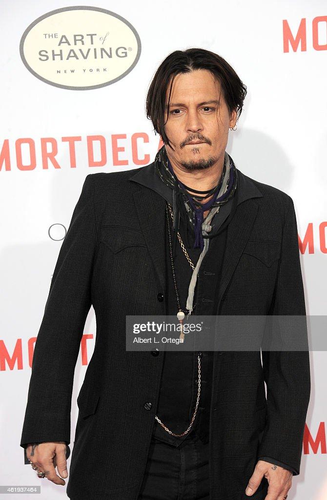 """Premiere Of Lionsgate's """"Mortdecai"""" - Arrivals : News Photo"""