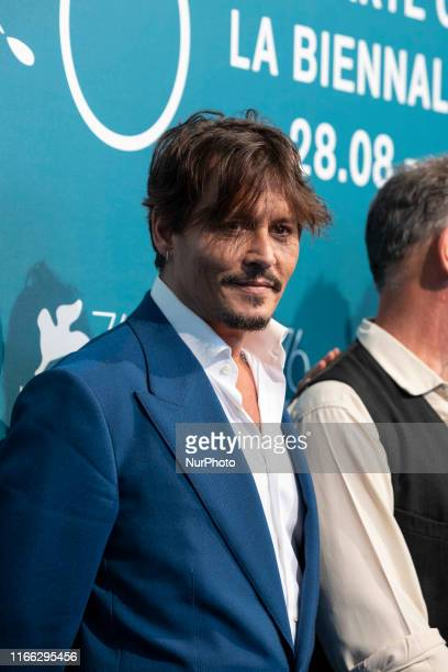 Actor Johnny Depp attends a photocall for the film ''Waiting for the Barbarians'' presented in competition on September 6, 2019 during the 76th...