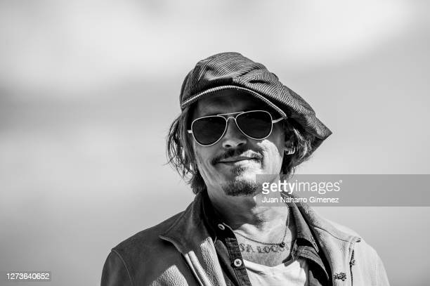 Actor Johnny Depp attends 'Crock of Gold: A Few Rounds With Shane Macgowan' photocall during the 68th San Sebastian International Film Festival at...
