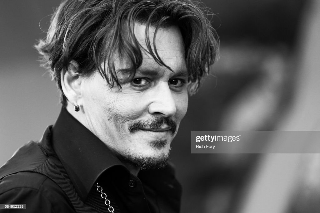 Actor Johnny Depp attends the premiere of Disney's 'Pirates Of The Caribbean: Dead Men Tell No Tales' at Dolby Theatre on May 18, 2017 in Hollywood, California.